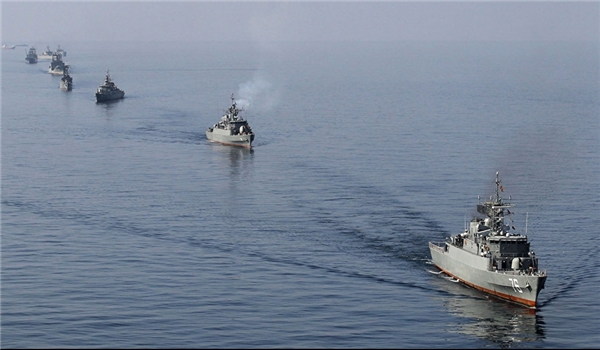 Iran, china navy hold military drill