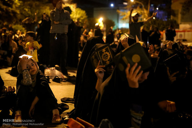 Iranians hold Night of Decree