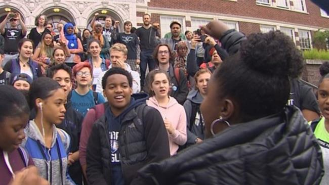 Students, teachers hold protest to demand justice for Charleena Lyles