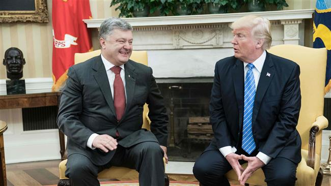 Ukrainian president says held 'effective' talks with Trump on arms provision