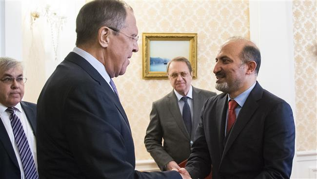 Foreign-sponsored Syria opposition losing influence: Russia FM