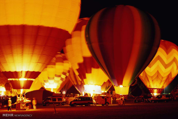 Balloon festivals in various countries