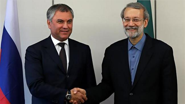Iran, Russia engaged in real fight against terrorism: Larijani