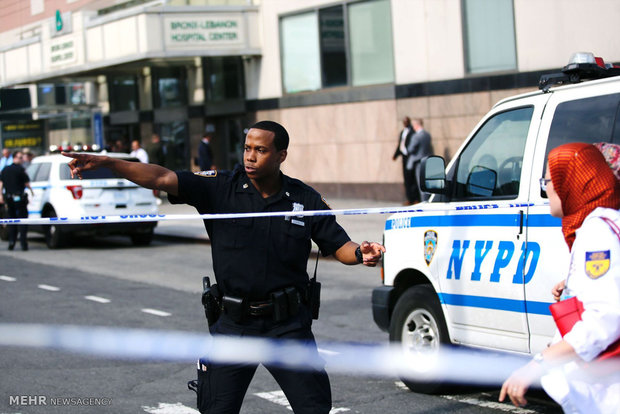 Shooting in a hospital in Manhattan