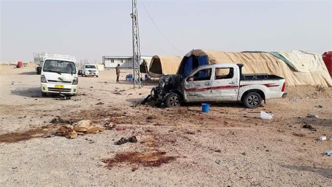 Bomb attack kills 14 in refugee camp in Iraq's Anbar province