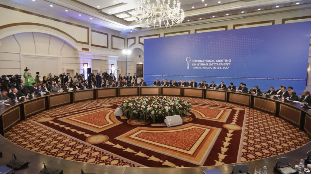 5th round of Syrian talks to hold in Astana