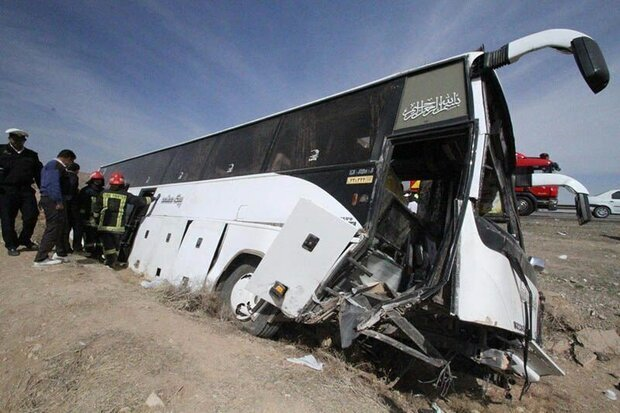 Bus carrying journalists overturns in Iran, 2 Killed, 21 Injured