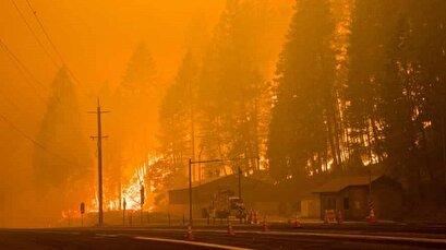California wildfire destroys multiple homes as state's largest blaze intensifies