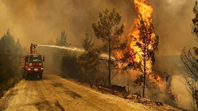 Most forest fires contained as PKK-linked group vows arson attacks