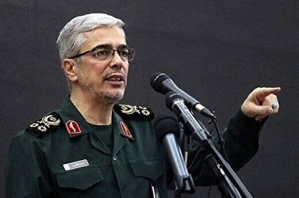 General Bagheri: We will not tolerate any mischief at the borders