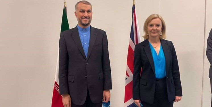 Amir-Abdollahian Criticized EU and UK for their Indifference to the US Moves