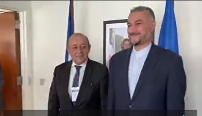Meeting of Amir-Abdollahian and the French Foreign Minister in New York